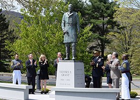 West Point Unveils Statue of Ulysses S. Grant