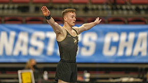 Men's Gymnastics Completes Competition at NCAAs