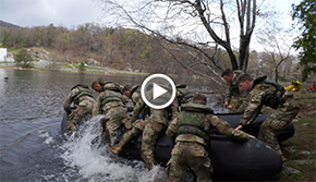 USMA Black Takes it All at Sandhurst