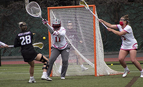 Women's Lacrosse Tops BU to Claim #1 Seed