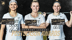 Three From Women's Lacrosse Earn First Team All-League Honors