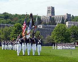 Cadets on Parade Field